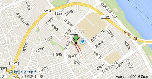 碧華國小停車場地圖