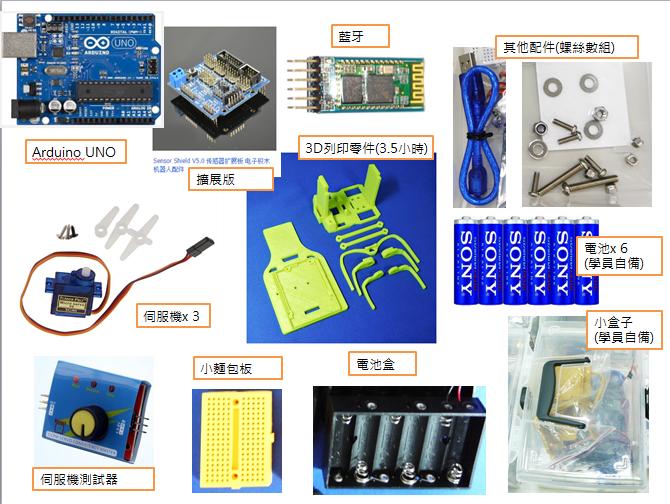 Arduino六足甲蟲套件